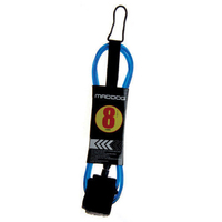 Maddog Surfboard Leash 9' Blue