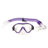 Mirage Junior Goby Silitex Mask and Snorkel Set Yellow