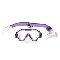 Mirage Junior Goby Silitex Mask and Snorkel Set Purple