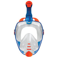 Mirage Galaxy 2 Mask & Snorkel Adult Set - Blue - L/XL