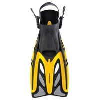 Mirage Adult Gold Series Crystal Fins Yellow