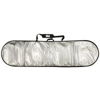 8'0'' FIND Silver Padded Surfboard Cover