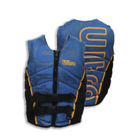 Ultra - Womens Eye Candy Neo Life Vest Life Jacket PFD [Level 50S] - Blue/Black