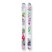 Spice Snow Skis Sherbet Flower Camber Sidewall 135cm
