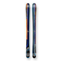 Five Forty Snow Skis Park Black/Blue Camber Sidewall 145cm