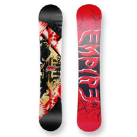 Empire Snowboard Zeroone Red Camber Capped 158cm