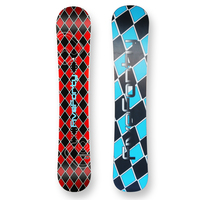 Five Forty Snowboard Reverse Red Flat Sidewall 158cm