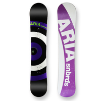 Aria Snowboard Target Stick Camber Capped 157cm