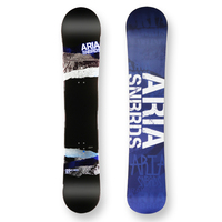 Aria Snowboard Draw Liner Blue Camber Capped 157cm