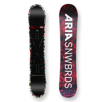 Aria Snowboard Drop Out White Camber Capped 157cm