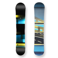 Aria Snowboard 154.5cm X Boarder Camber Capped