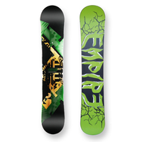 Empire Snowboard Zarooni Dark Green Camber Capped 154cm