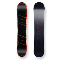 Aria Snowboard Drop Out Red Camber Capped 151.5cm