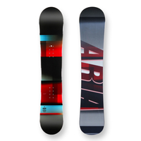 Aria Snowboard 151.5cm Xross Boarder Red/Blue Camber Capped