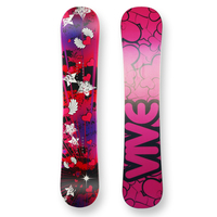 Vive Snowboard Flying Hearts Camber Capped 138cm
