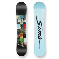 Sims Snowboard Rules Mini Camber Sidewall 136cm