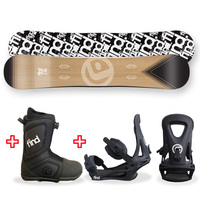 FIND™ Trip Sidewall Snowboard Package with Realm ATOP Cable Boot and TRACTION Binding