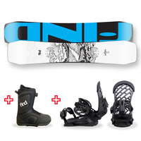 FIND™ Venture Sidewall Snowboard Package with Realm ATOP Cable Boot and TORK Binding