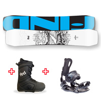 FIND™ Venture Sidewall Snowboard Package with Realm Lace Boot and Rear Entry SP Binding
