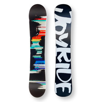 JOYRIDE Snowboard 146.5cm Snow Multicolor Twin Tip Flat With Tip Rocker Capped