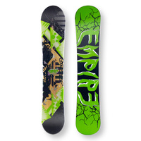 EMPIRE Snowboard 149cm Zero-One Green Twin Tip Camber Capped