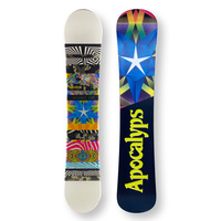 APOCALYPS Snowboard 158cm Scope Twin Tip Camber Capped