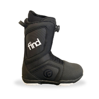 FIND Realm ATop Cable Black Snowboard Boots