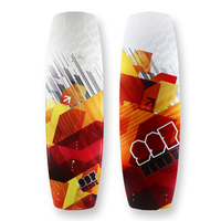 997 - Blast Red Kiteboard Rocker Sidewall - 134cm