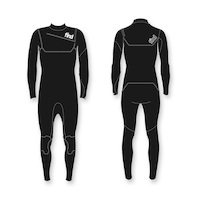 FIND™ Mens 3mm/2mm Steamer Long Sleeve & Leg Jako neoprene CR Front Zip Wetsuit