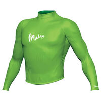 Maddog Men's Long Sleeve Rash Vest Lime