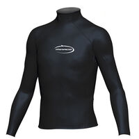 Mirage Junior Lycra Rash Long Sleeve Shirt Black