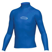 Mirage Junior Lycra Rash Long Sleeve Shirt Blue